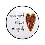 Pizza, Not Negativity Button