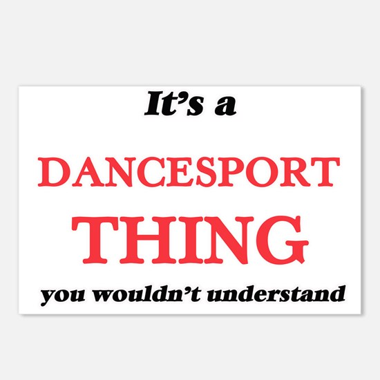 It's a Dancesport thi Postcards (Package of 8)
