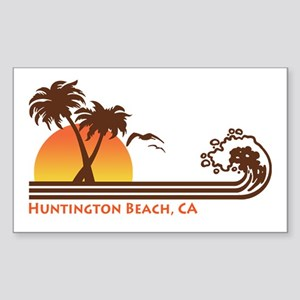 Huntington Beach California Sticker (Rectangle)
