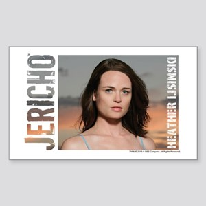 Jericho: Heather Lisinski Sticker (Rectangle)