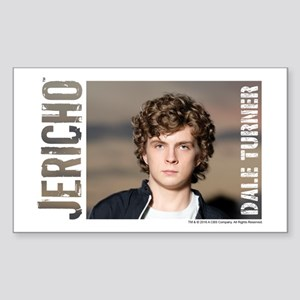 Jericho Dale Turner Sticker (Rectangle)