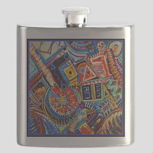 Bourbon Street USA Flask