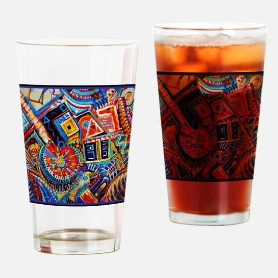Bourbon Street USA Drinking Glass