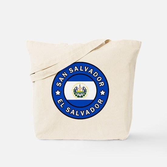 Cute San salvador Tote Bag