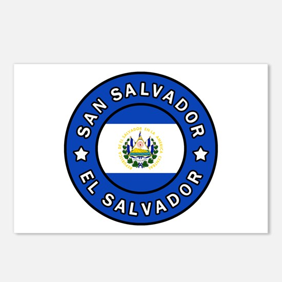 San Salvador Postcards (Package of 8)