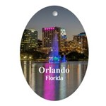 Orlando Oval Ornament
