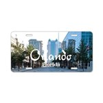 Orlando Aluminum License Plate
