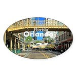 Orlando Sticker (Oval 10 pk)