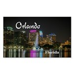 Orlando Sticker (Rectangle)