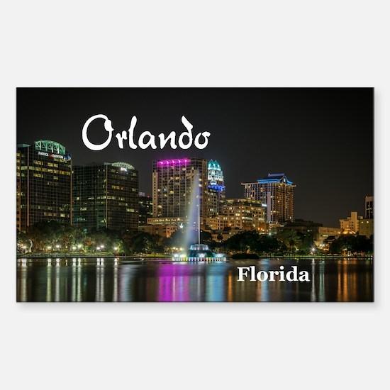 Orlando Sticker (Rectangle)