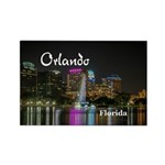 Orlando Rectangle Magnet (10 pack)