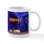 Friends Dont Let Friends Karaoke Ferret Mug
