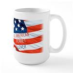 All American Ferret Large Mug