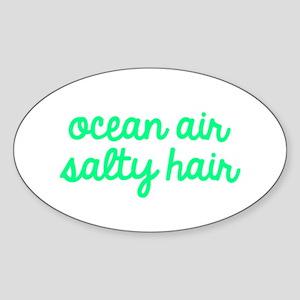 Ocean Air Salty Hair Sticker