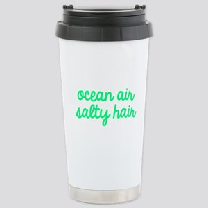 Ocean Air Salty Hair Stainless Steel Travel Mug