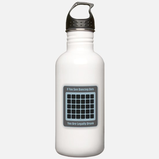 Dancing Dots Water Bottle
