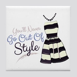 Out Of Style Tile Coaster