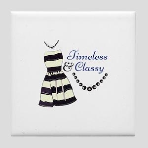 Timeless & Classy Tile Coaster