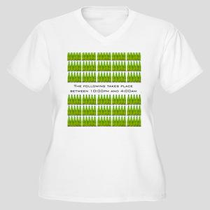 Exclusive 24 DUI T-Shirt Women's Plus Size V-Neck