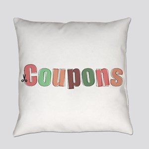Coupon Clipper Everyday Pillow