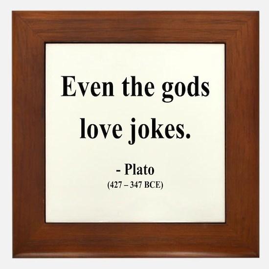 Plato 23 Framed Tile