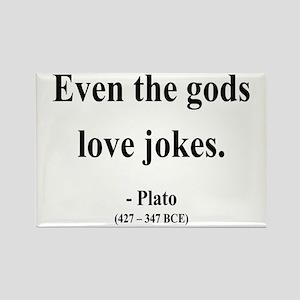 Plato 23 Rectangle Magnet