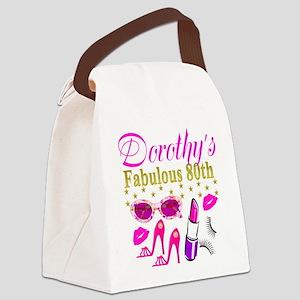 CUSTOM 80TH Canvas Lunch Bag