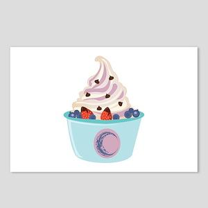 Berry Yogurt Postcards (Package of 8)