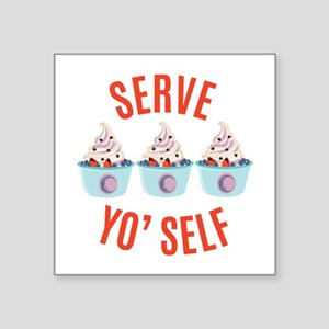 Serve Yoself Sticker