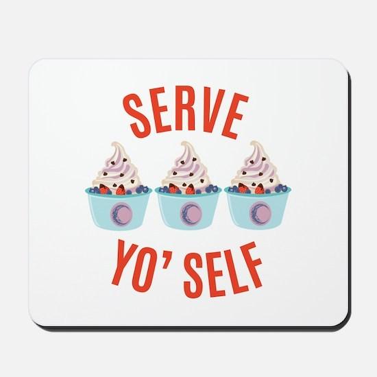Serve Yoself Mousepad