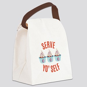 Serve Yoself Canvas Lunch Bag