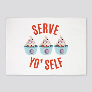 Serve Yoself 5'x7'Area Rug