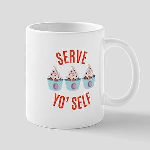 Serve Yoself Mugs