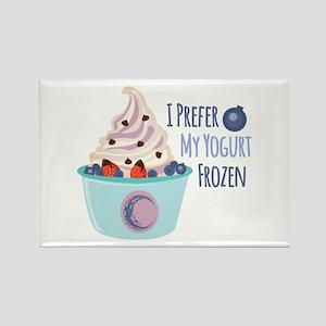 Frozen Yogurt Magnets