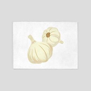 Garlic Cloves 5'x7'Area Rug