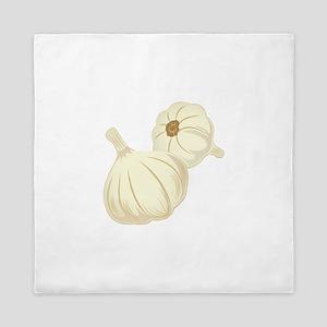 Garlic Cloves Queen Duvet