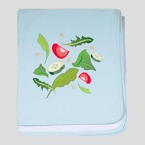 Toss Salad baby blanket