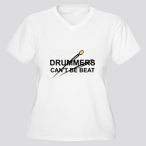 DRUMMERS CAN'T BE BEAT Plus Size T-Shirt