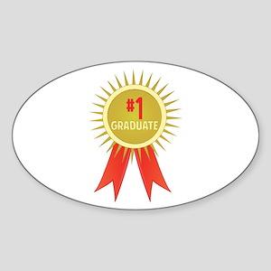 #1 Graduate Sticker