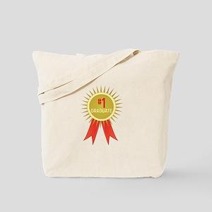 #1 Graduate Tote Bag