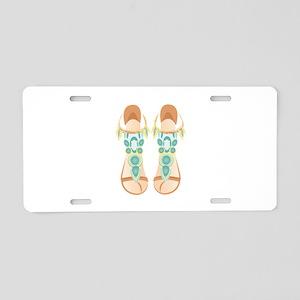 Sandals Aluminum License Plate