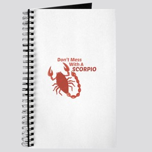 Mess With Scorpio Journal