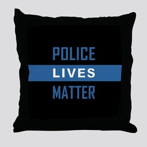 POLICE LIVES MATTER Throw Pillow