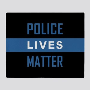 POLICE LIVES MATTER Throw Blanket