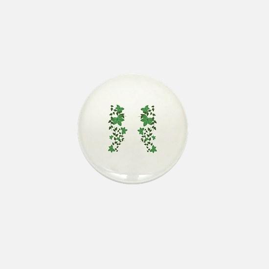 Ivy Vines Mini Button
