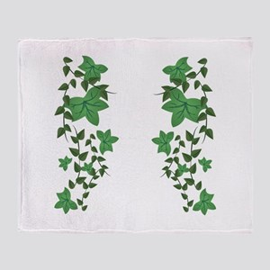 Ivy Vines Throw Blanket
