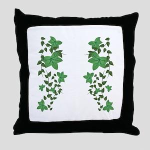 Ivy Vines Throw Pillow