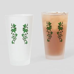 Ivy Vines Drinking Glass