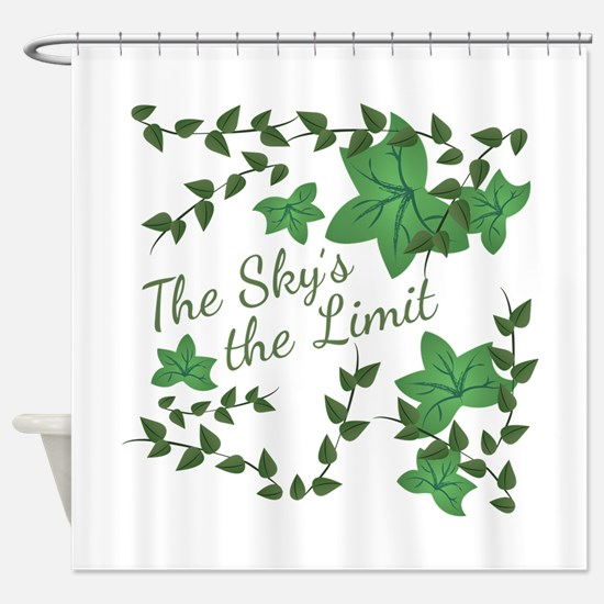 Skys The Limit Shower Curtain