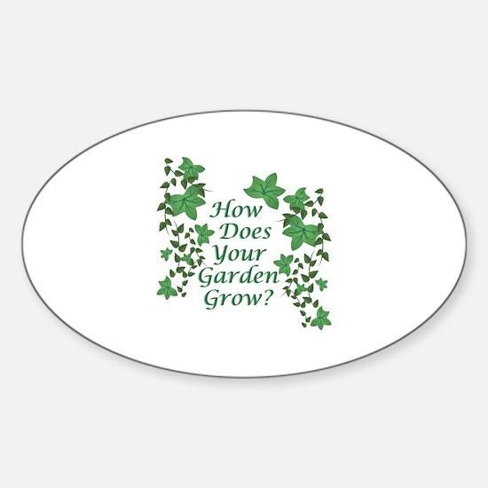 Garden Grow Decal